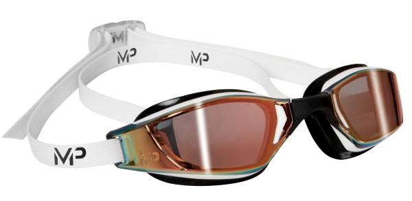 Michael Phelps Aqua Sphere plavecké brýle XCEED GOLD titanově zrcadlový zorník 1